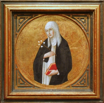 Bonnefantenmuseum - Heilige Catharina van Siena - Sano di Pietro (ca. 1442)